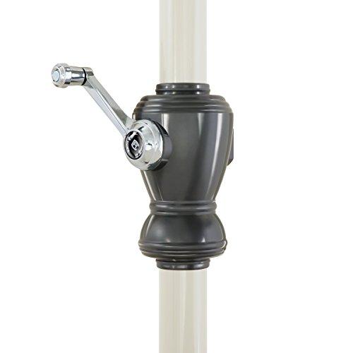 Classic Accessories Montlake FadeSafe 9-Foot Round Aluminum Patio Umbrella, Heather Fern by Classic Accessories (Image #7)