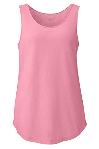 Chadwicks of Boston Knit Pajama Tank Top by Real Comfort Pink Berry