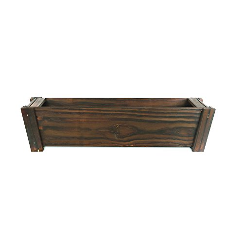 Pennington Décor Matthews Window Box, 36''/Large, Dark Flame by Pennington Décor