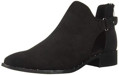 STEVEN by Steve Madden Women's CUSP Ankle Boot Black Nubuck 7 M US