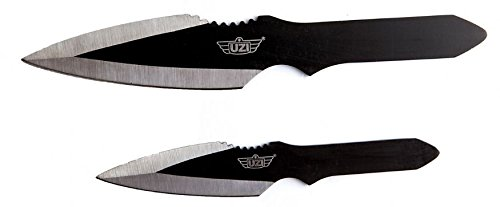 Uzi UZIKT02 Knives Fixed Knife Throwing Set 2 Pc Uzk Trw 002 Knives Fixed ()