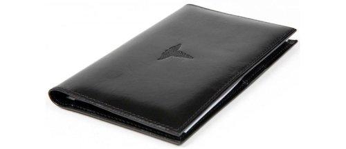 Bosca Old Leather Prescription Pad Organizer,Black by Bosca (Image #2)