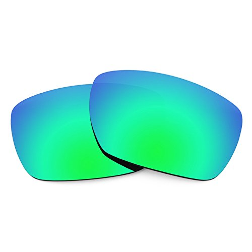 Revant Polarized Replacement Lenses for Oakley Tincan Elite Rogue Green MirrorShield