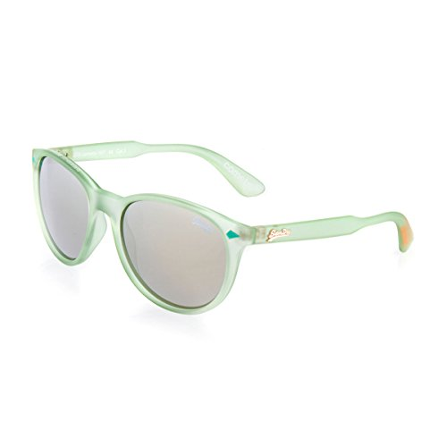 Superdry Green Comets Wayfarer Sunglasses Lens Category 3