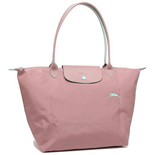 Longchamp 'Large 'Le Pliage Club' Nylon Tote Shoulder Bag, Pink