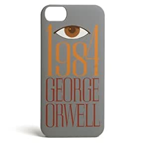 Literary Titles and Themed iPhone 5 Cases (1984) by ruishername