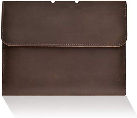 Leather Notebook Refillable Padfolio Handmade
