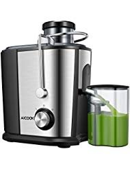 Juicer Juice Extractor, Aicook Wide Mouth Centrifugal Juicer, BPA-Free Food Grade Stainless Steel, Dual Speed Setting Juicer Machine with Anti-drip Function for Fruits and Vegetables