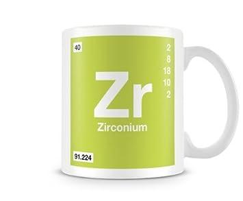 Amazon periodic table of elements 40 zr zirconium symbol mug periodic table of elements 40 zr zirconium symbol mug urtaz Images