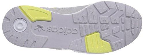 adidas Performance Tech Super - zapatillas de running de cuero mujer gris - Grau (Lgh Solid Grey/Ftwr White/Blush Yellow S15-St)