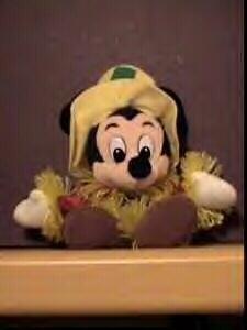 Disney Scarecrow Mickey Mouse BeanBag