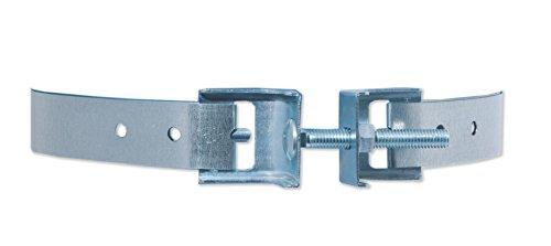 60-Degree Galvanized Steel Water Heater Restraint up to 80 gallon (Water Heater Restraint)