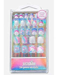 Justice Just Shine Press On Nails You Are Magical Unicorn 3