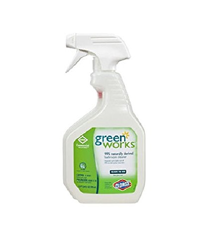 - Green Works - Bathroom Cleaner, 24oz Spray Bottle 00452 (DMi EA
