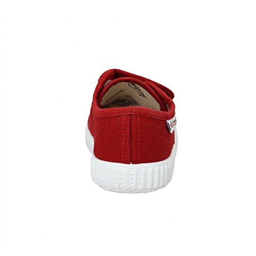 Victoria Basket Lona Dos Velcros - Zapatillas Unisex Niños Rojo - rojo