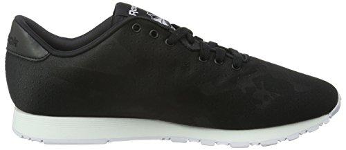 Nero da Sneakers Classic Jacquard Donna Black Nylon White Reebok cCqaHa