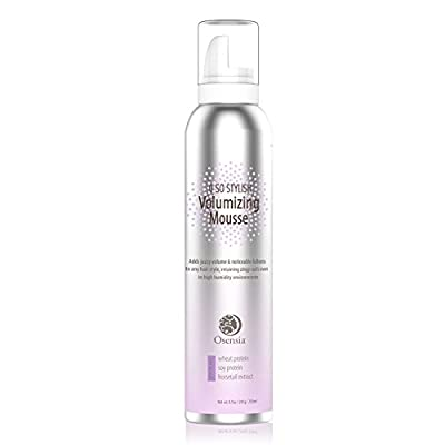 Major Volume Mousse – Anti-Humidity, Strong Hold, Touchable Natural Mousse Hair Foam Brings Life to Flat, Listless Curls – Color Safe Volumizing Hair Products to Thicken All Hair Types 8.5oz - Osensia