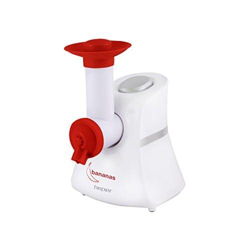 BEPER 70.256 Machine à Sorbetière, Blanc/Rouge, 150 W