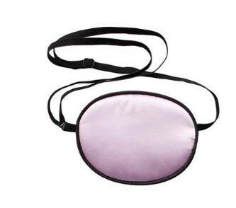ANGTUO Parche de ojos de seda Parche de ojos de pirata para adultos y niños para tratar la ambliopía / parche de estrabismo Astigmatismo