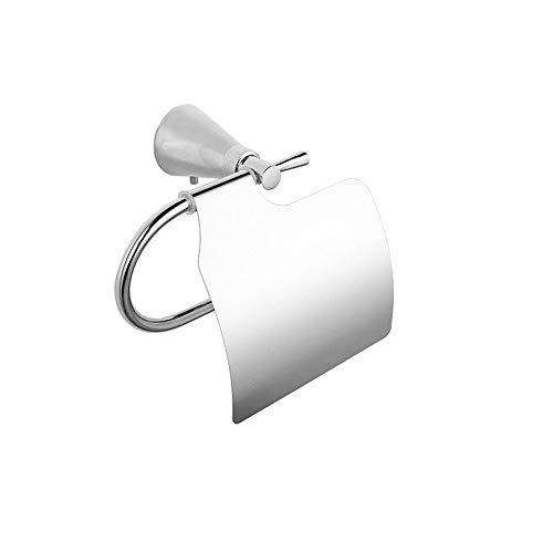 PQPQPQ Zinc Alloy Square Squash Paper Holder Toilet Paper Rack Towel Rack