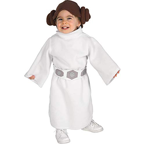 Star Wars Princess Leia Fleece Infant/Toddler Costume - 2-4T White]()