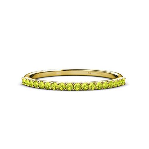 0.25 Ct Peridot Ring - 8