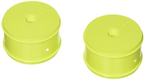 Team Losi 61mm Rear Wheel 12mm Hex Yellow (2): 22/22-4 ()
