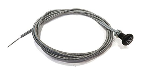 The ROP Shop 8 Foot FT. Universal Carburetor Choke Control Cable for 60122 Lawn Tractor Mower