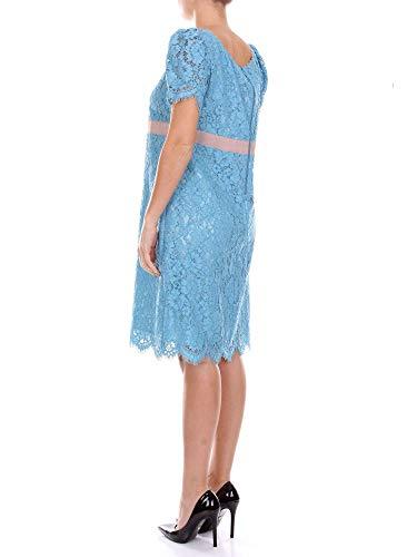 Donna Azzurro Ps82xa01911 Twin Vestito Viscosa set EFqOEz4g