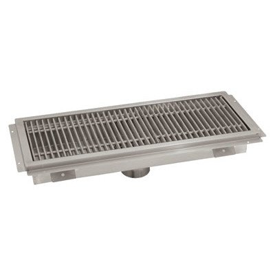 "Advance Tabco FTG-1224 12"" x 24"" Floor Trough"