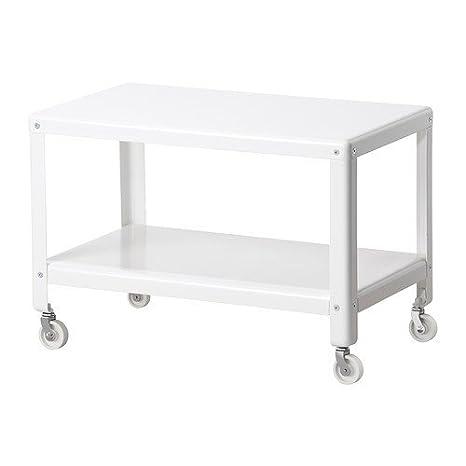 Tavolo Con Ruote Ikea.Ikea Ps 2012 Tavolino Da Salotto Bianco 70 X 42 Cm Amazon It