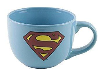 (DC Comics 24oz. Ceramic Soup Mug - Superman by Animewild)