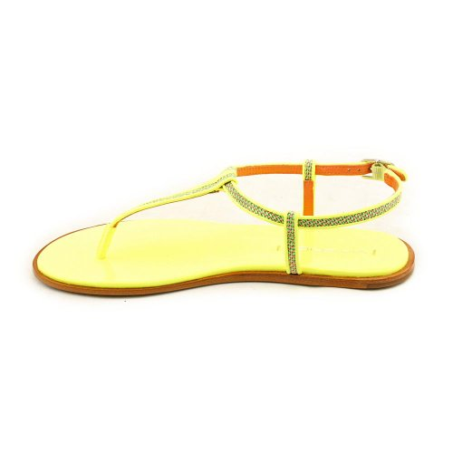 Via Spiga Women's Cynna Flip Flops Neon Yellow vHvFJtd