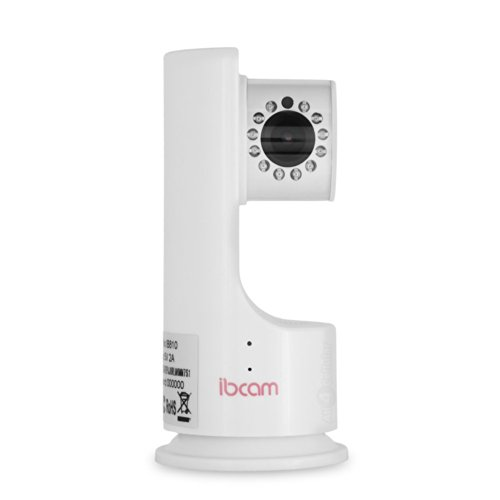 iBCam iB810 SMART Wifi Baby Monitor and Nanny Cam with iOS and Android (White)