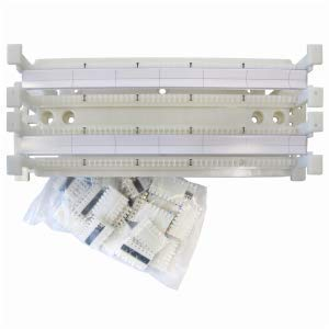 Allen Tel Products GB100-C5-KIT 100 Non Field Terminated Pair Block With Legs And 20/C5 Connectors