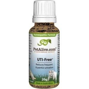 PetAlive UTI-Free Supports Pet Bladder and Urinary Health, My Pet Supplies