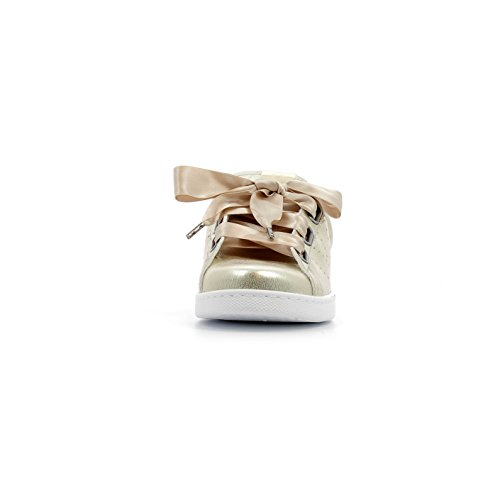 victoria Unisex-Erwachsene Deportivo Metalizado Bañeras Sneaker platino