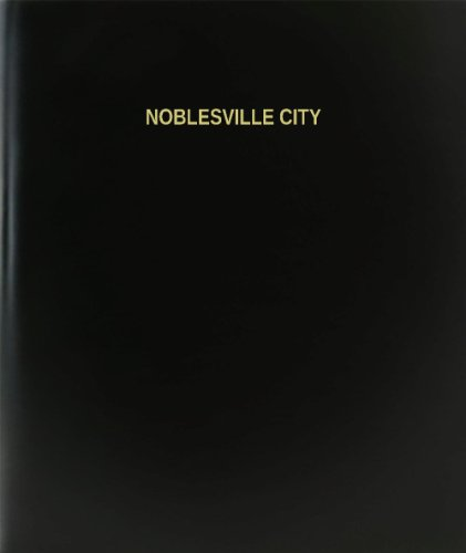 BookFactory® Noblesville City Log Book / Journal / Logbook - 120 Page, 8.5