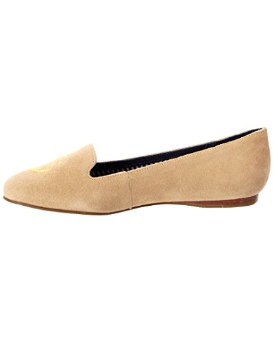 Jack Rogers Mujeres Reese Suede Loafers Sand
