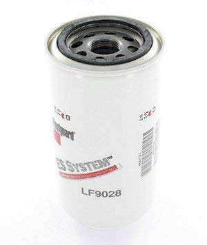 Fleetguard LF9028 Extended Service Lube Filter For Carrier/Kubota 300046300, Stratapore Venturi Combo, 100% Efficiency, 30-Micron Rating, 1-16 UN-2B Thread Size, 6.942''H x 3.666''OD