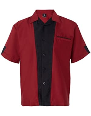 Men's Bowling Retro Monterey Bottom Shirt