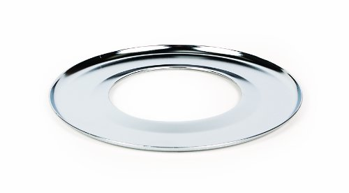 "Price comparison product image Camco 00363 7"" Round Gas Drip Pan (Chrome)"