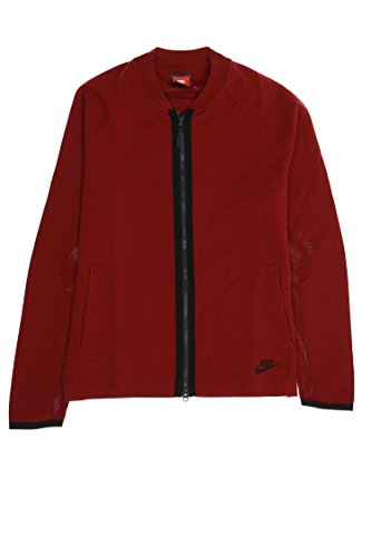 (Nike Full Zip Sweatshirt (Burgundy, XLarge ))