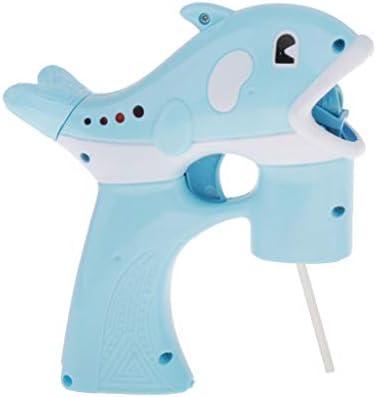 CUTICATE 電動おもちゃ バブルメーカー イルカ形 シャボンダマシーン キッズ バブルマシン 外遊び プール 2色選ぶ - 青い