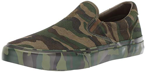 Polo Ralph Lauren Men's Thompson Sneaker, Olive camo, 10.5 D US