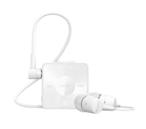 Sony SBH20 Stereo Bluetooth Headset  White  Headphones