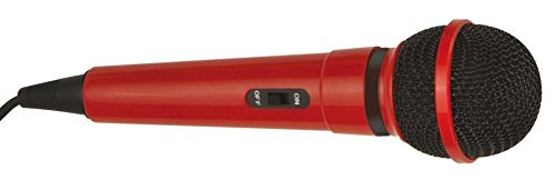 Mr Entertainer Plastic Karaoke Microphone Red by Mr Entertainer