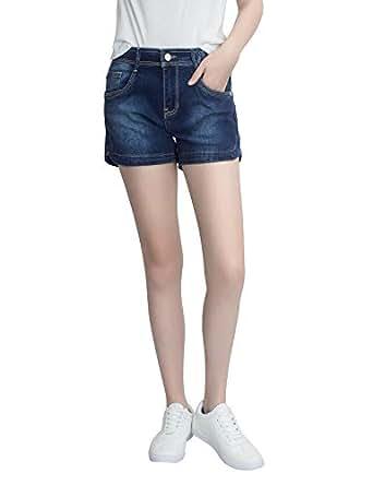 777c599de3 Demon Hunter 601 Shorts Series Mujer Pantalones Vaqueros Cortos ...