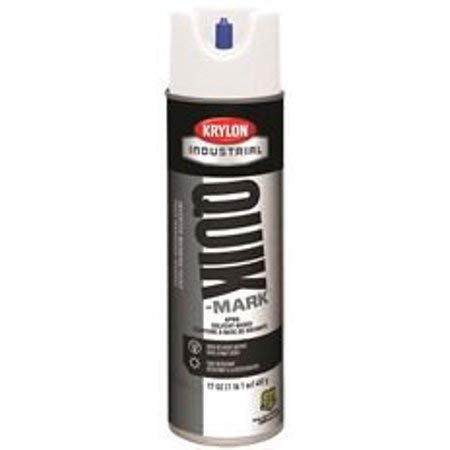 Krylon Inverted Water Based Marking Paint White (Box of 12)