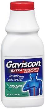 Gaviscon Liquid - Gaviscon Esrf Liquid Mint Size 12z Gaviscon Esrf Liquid Mint 12z